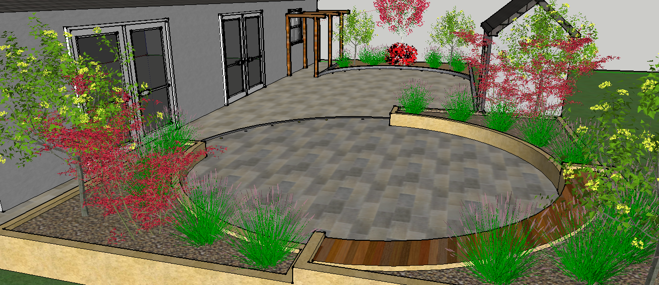 3d Garden Designs For Design