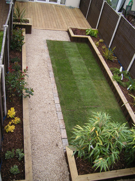 Glasnevin decking project for Design your back garden