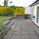 stillorgan garden Paving