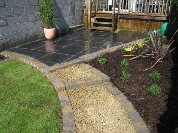 Drumcondra Limestone Patio Garden Designers Dublin
