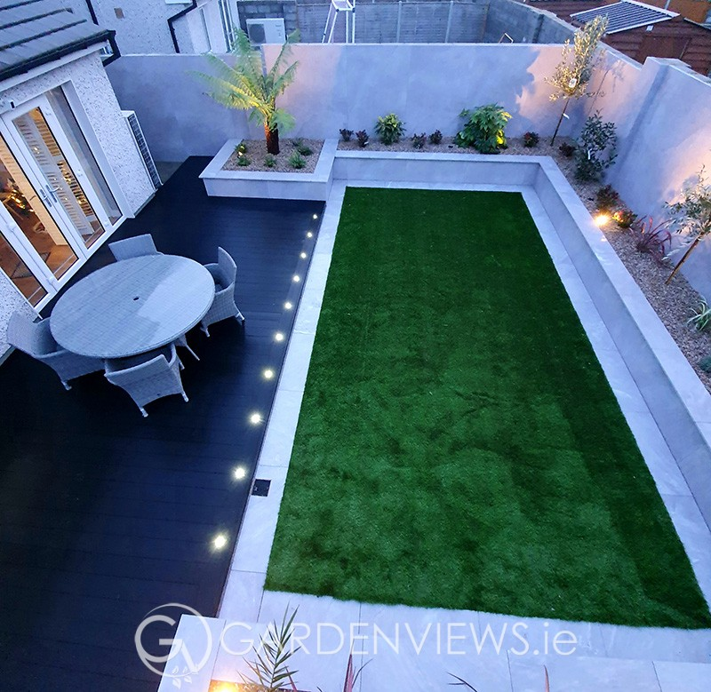 Landscape Garden Design in Baldoyle, Co. Dublin
